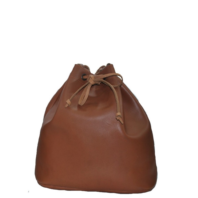 ee494a76e1 Κλασικές  Τσάντα γυναικεία δερμάτινη πουγκί